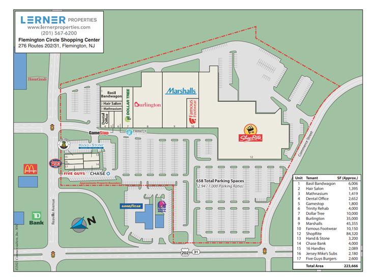 Lerner Properties: Flemington Circle Shopping Center, Flemington, NJ
